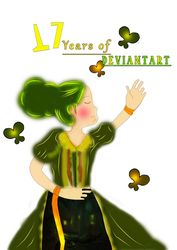 Celebrating 17 Years of DeviantArt by Nhat-Minh
