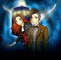 Doctor Who by Eilyn-Chan