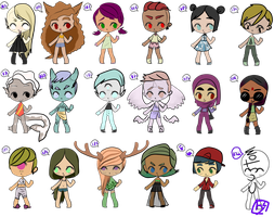 [price reduced]10-25 point adopts[5/18] [OPEN] by B4GELS