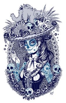 Catrina sketch by EdgarSandoval
