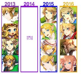 4 years link drawing2 by muse-kr