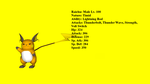Raichu Profile by Xboxking37