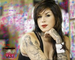 Kat Von D wallpaper by futurerockstr16