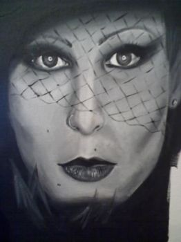 Pitty: pintura by maraisamazarao