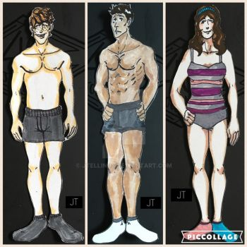 Paper Dolls (Series One) by JTellings