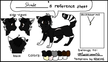 Shade's Reference Sheet by centuries-immortals