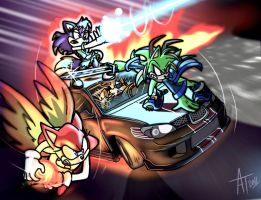 .:CONTEST:. Team Stealth by SonicFF