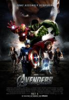 The Avengers - Poster Update by themadbutcher