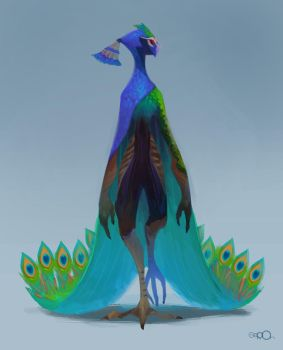 Peacock by zgul-osr1113