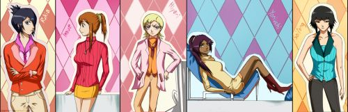 Bleach girls - The Formalists by daennah