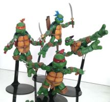 NECA TMNT Bootlegs by 0PT1C5