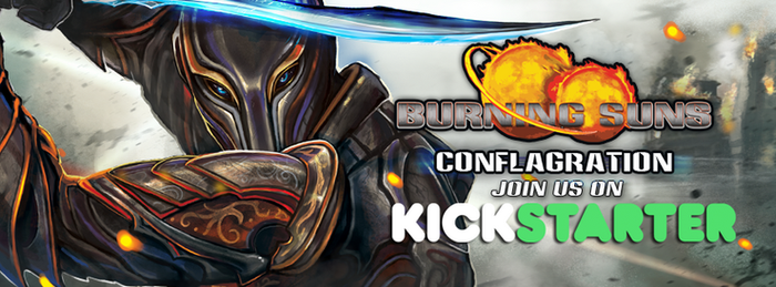 Burning Suns: Conflagration is LIVE by AngelitaRamos
