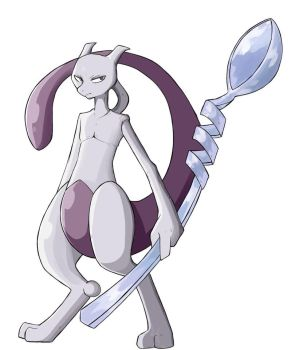 Mewtwo by Do-omed-Moon