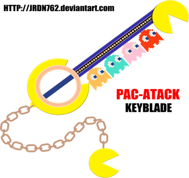 PAC-ATTACK Keyblade by JRDN762