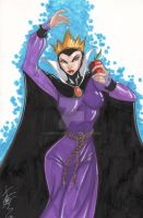 Evil Queen from Snow White by Hodges-Art