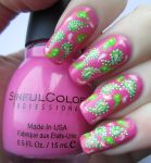 Hand Painted Paisley Nail Art by soyoubeauty