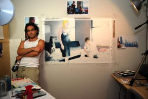 Me at Work by reubennegron