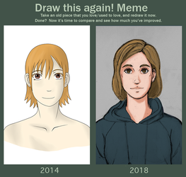 Draw This Again 2018 by Hachi-Fusami