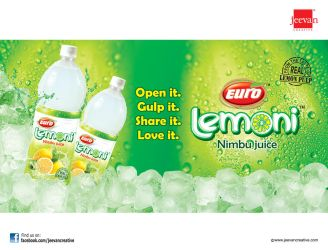Euro Lemoni Nimbu Juice by jeevancreative