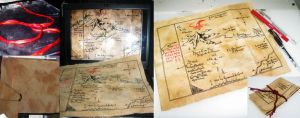 TH :Hand Made Prop: Thror's Map by noei1984