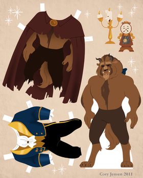 Beast Paper Doll Download by Cor104