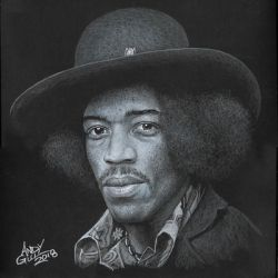 Jimi Hendrix22 by AndyGill1964