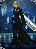 Dissidia NT - Cloud Strife (Cloudy Wolf) by KylieStylish
