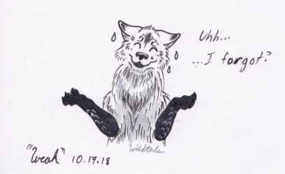 INKtober 2018 | Day 15 | CatchINK Up by Wildtale