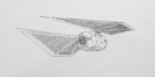 TIE Striker prototype by DarkSapiens