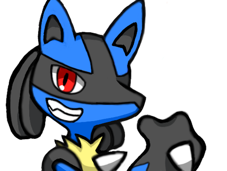 Colors 3D: Lucario by ShingStreet