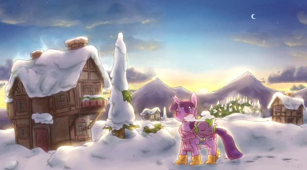 winter wrap up morning by rigisan
