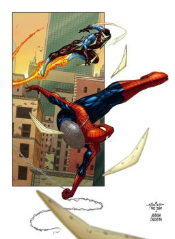 Webswinging - Andrea colors by SpiderGuile