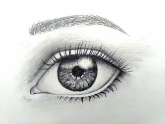 Realistic eye by suraZcat