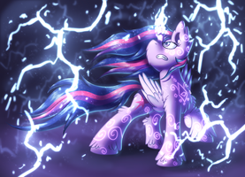 Lightning [MLP Twilight] by Shad0w-Galaxy