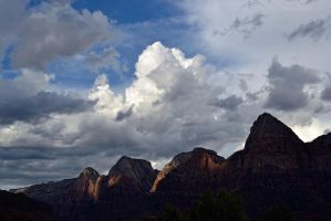Zion after the Thunderstorm by artamusica