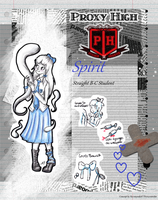 Spirit - Proxy High Student ID by MikuParanormal