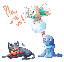 Play with us! by Tropiking