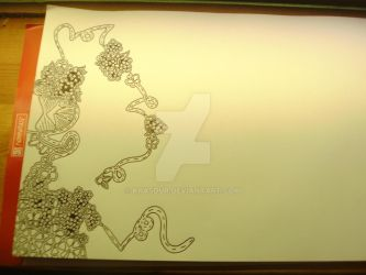 How to draw... a Zentangle #o11  'Never Finisched' by Krasdur