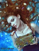 Mermaid Treasure Chest by AlysonTabbitha