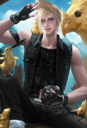 Prompto by sakimichan