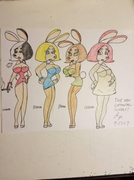 The New CottonTail Sisters! by PJToon75