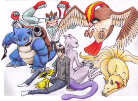 Sebastian's Pokemon team by kitt3702