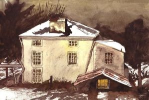 After Andrew Wyeth by insanellamagirl