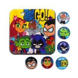 Make Teen Titans Go! Magnets With Mod Podge by geekymcfangirl