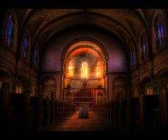 Salvation...for Some - HDR by ellysdoghouse