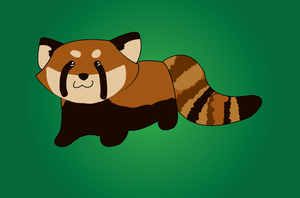 Chibi Red Panda by Cynlife