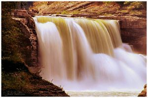 Letchworth Falls by FallesenPhotography