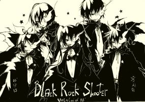 Vocaloid-Black Rock Shooter by xxxsai