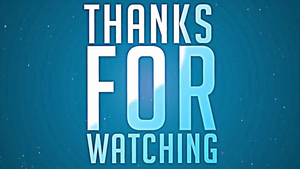 Thanks For Watching by alexpixels