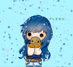 Plebs... ItsFunneh Fanart by Mittensjunior
